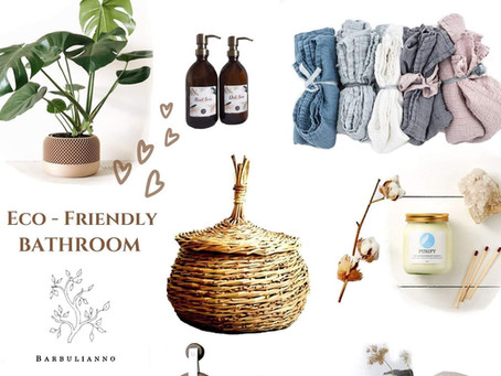 Create an Eco-Friendly Bathroom With Only 8 Items