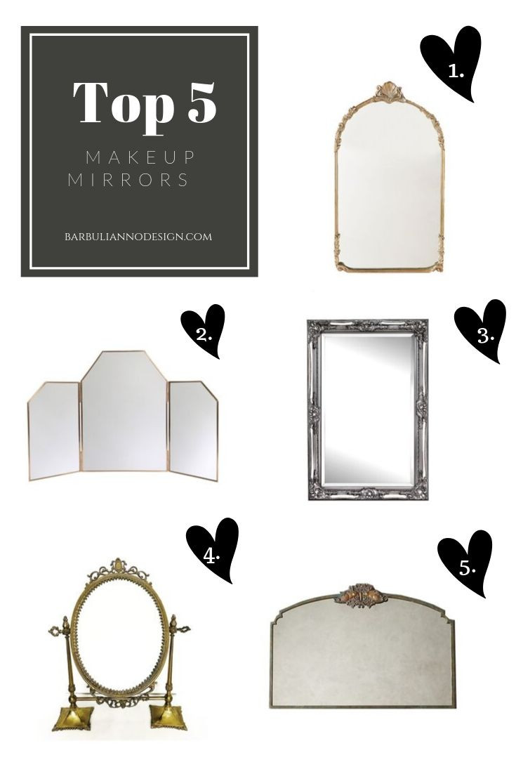 the best makeup mirrors by Barbulianno