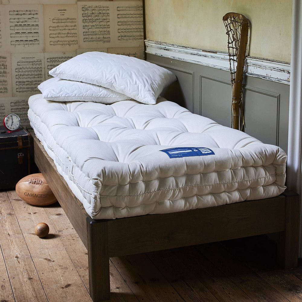 Organic natural mattress UK, by Abaca.