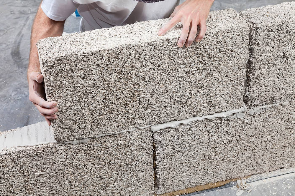 green house building material hempcrete