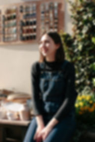 Ania Brzeski Founder of SLOTH_ Local Ceramics Maker London UK