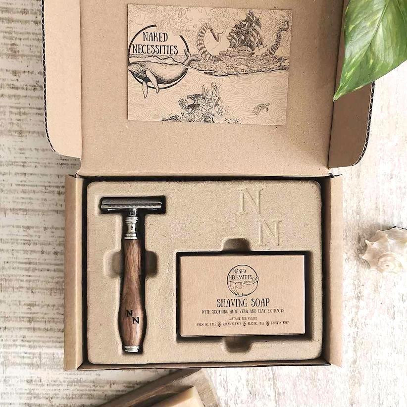 Zero waste razor kit - Eco Friendly Christmas Gift