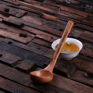 personalised bamboo spoon