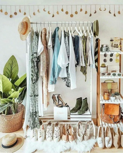 how to organise a closet