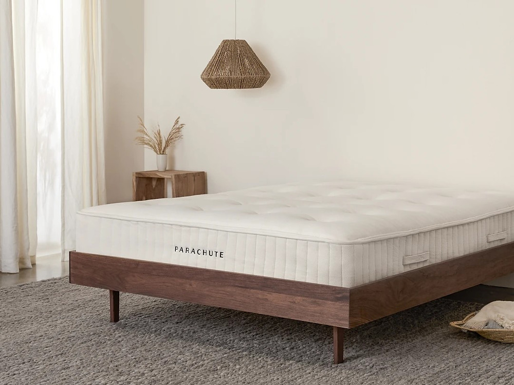 Eco Friendly mattress by Parachute. Click on the image to shop directly from the maker.