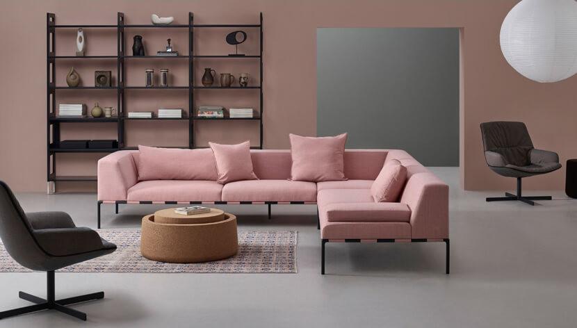 sustainabel corner sofa by Modus,  Babrulianno