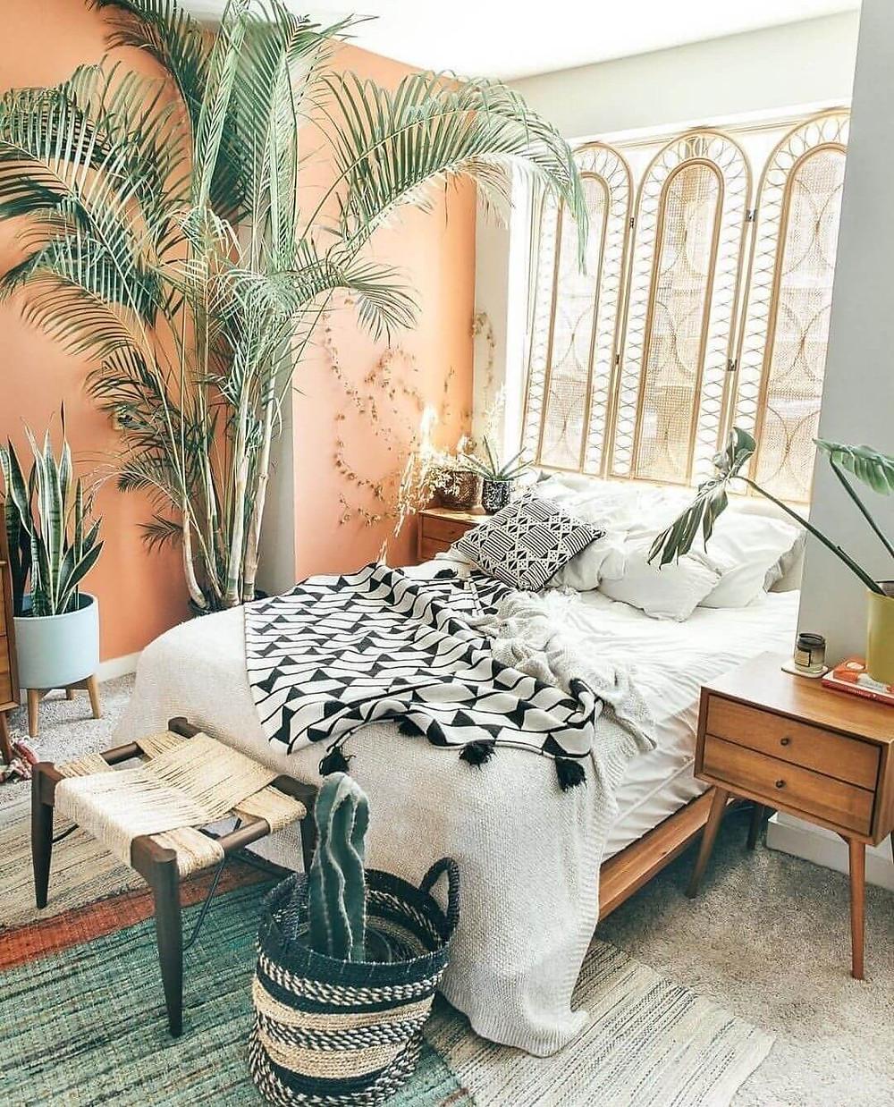 ways to nail bohemian style, bohemian style bedroom