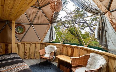 eco camp sustainable accommodation