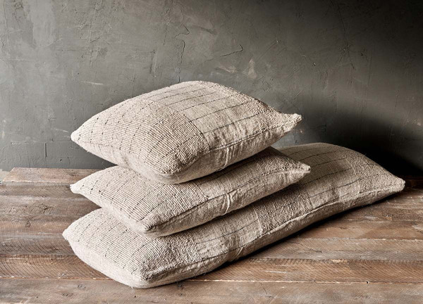 Natural Eco Cushion by Nkuku. Click on the image to shop directly from the maker.