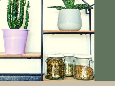 DIY - Sustainable Spice Shelf