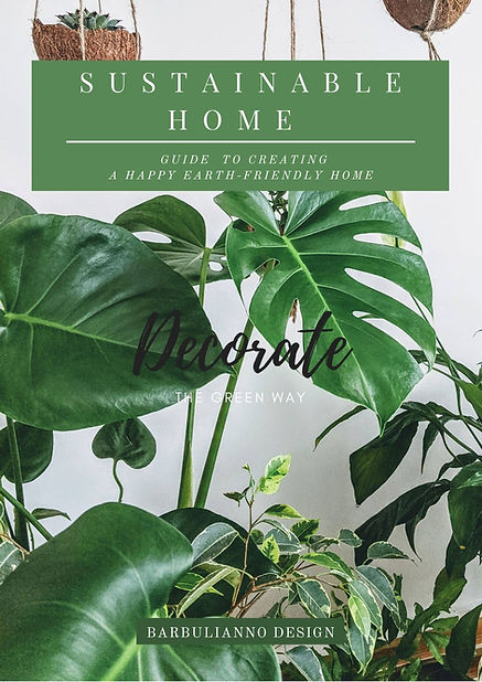 SUSTAINABLE HOME DECORATING GUIDE