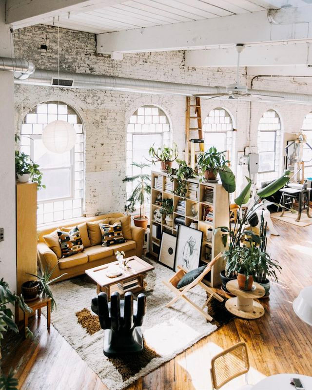 How to make industrial style design feel warmer