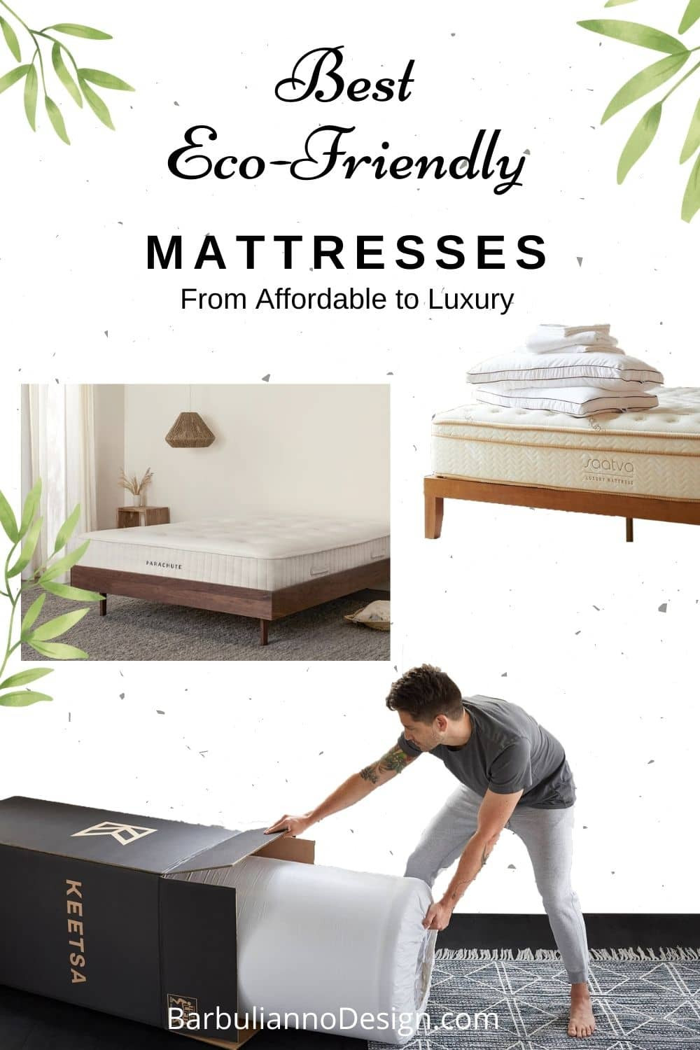 The best Eco Friendly Organic Non-Toxic Mattresses