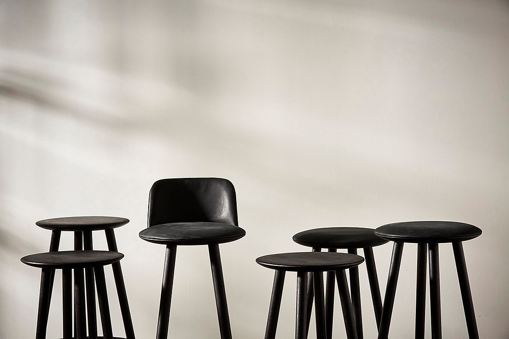 sustainable bar stools by BENCHMARK