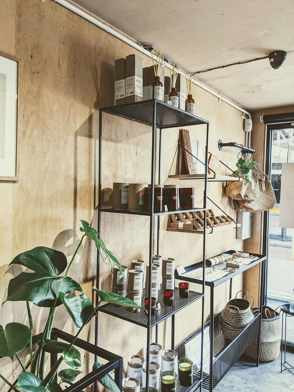 Handmade, ethical homeware shop in Manchester.