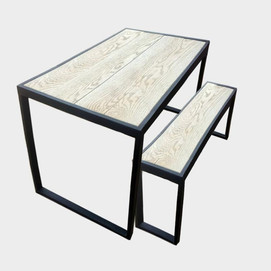 Sustainable Handmade Outdoor Dining Table