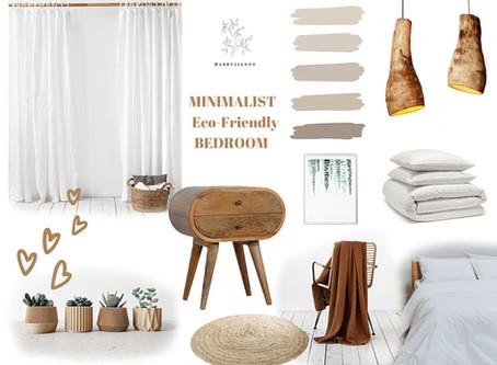 Create an Eco-Friendly Minimalist Bedroom Easily