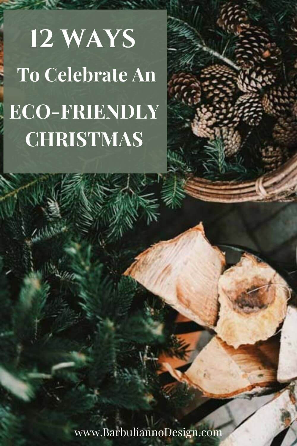 how to be more Eco-Frindly during Christmas
