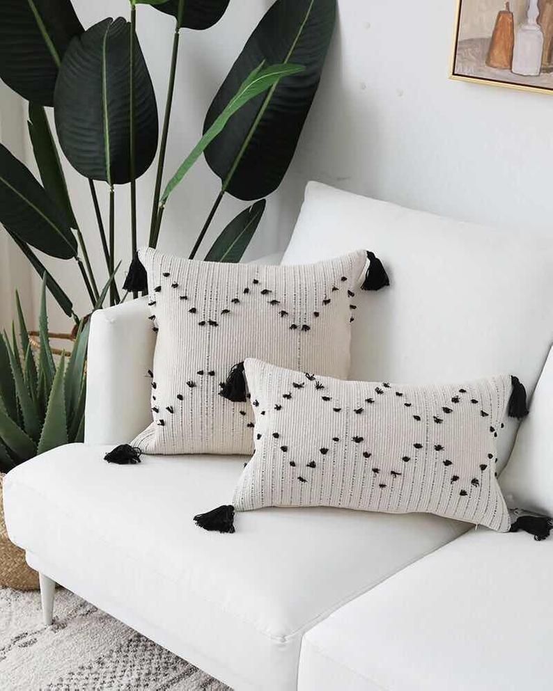 Bohemian style cushion cover