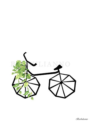 Green Bicycle Ride