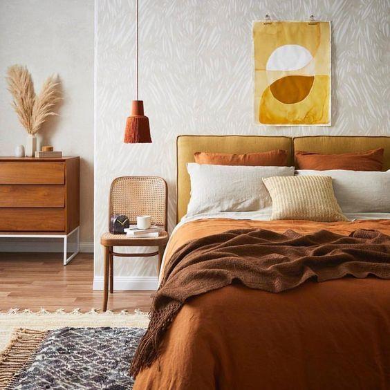 Autumn colour interior design trend 2019