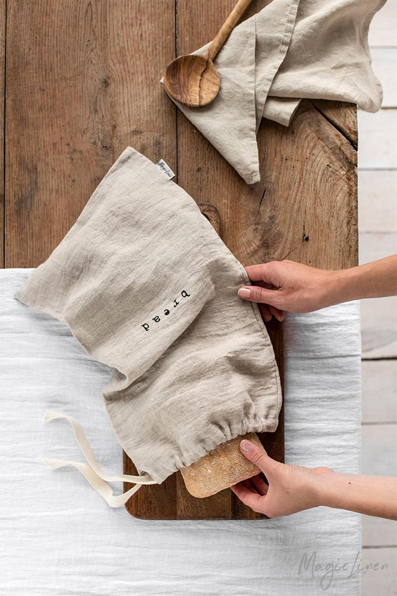 Sustainable Bread Linen Bag