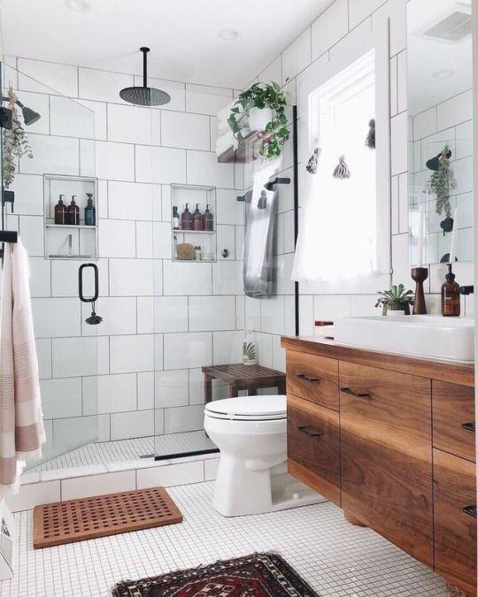 bright and airy bathroom design