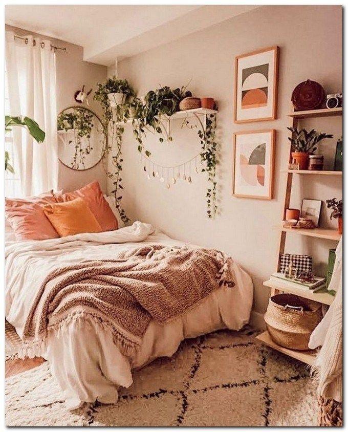 Cosy boho bedroom decorating ideas