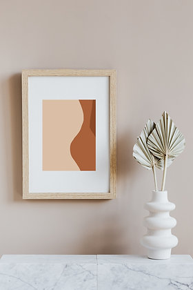 Abstract Art, Nude Minimalist