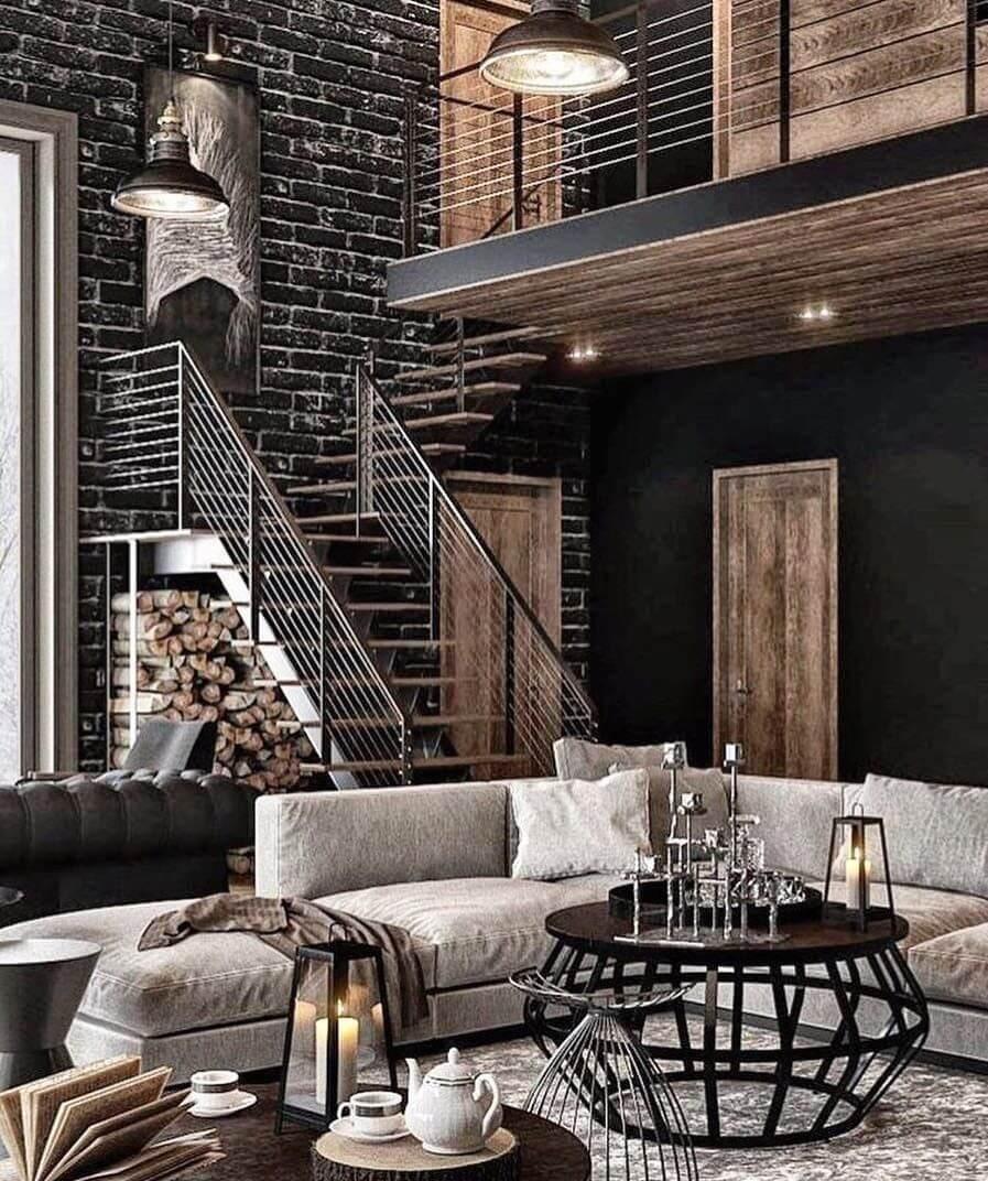 industrial style design apartment