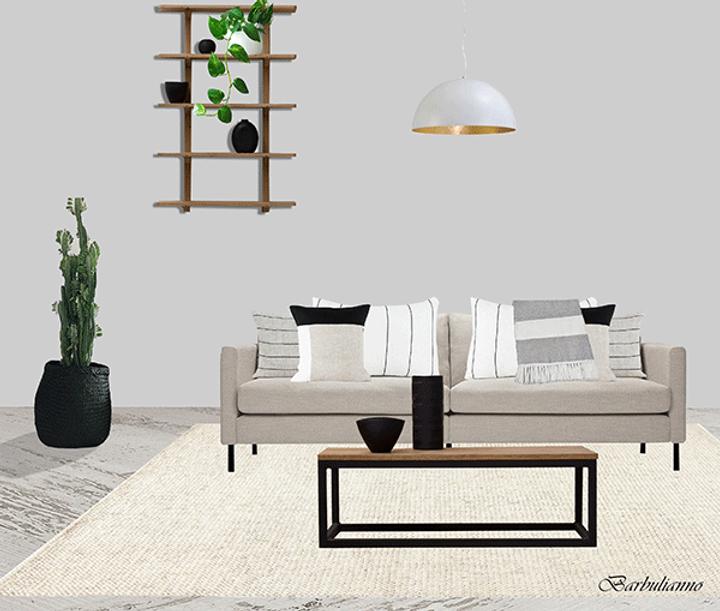 Barbulianno Eco-friendly Living Room Design