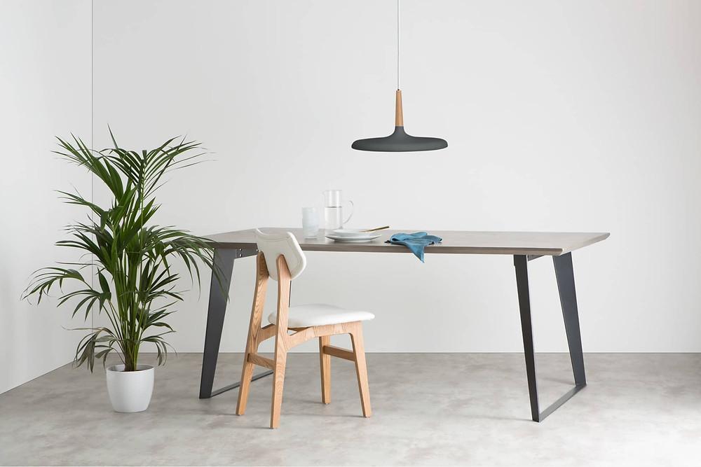 Japandi style minimal pendant light