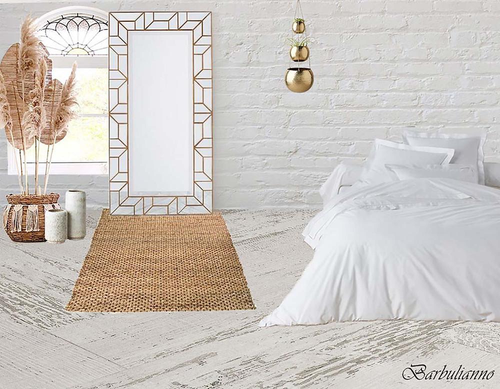white bedroom decor Barbulianno Design