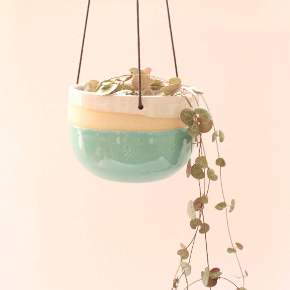 Colourful Handing Planter on Wearth London