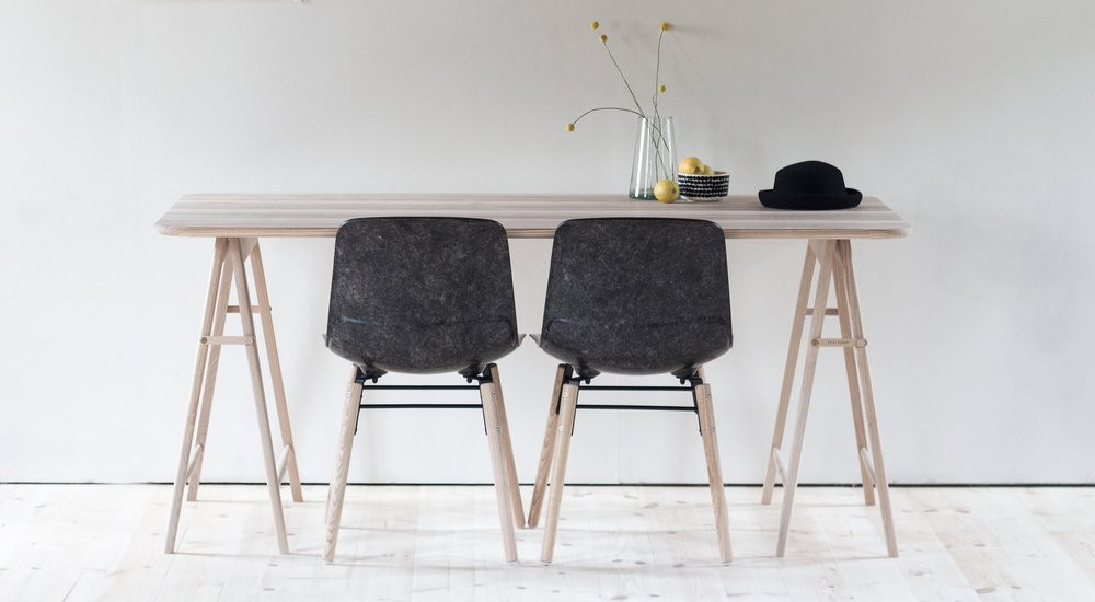 sustainable furniture in UK solid wool, Barbulianno Design