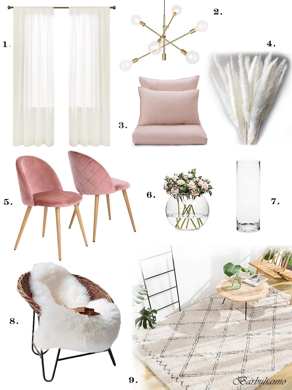 modern apartment decorative items