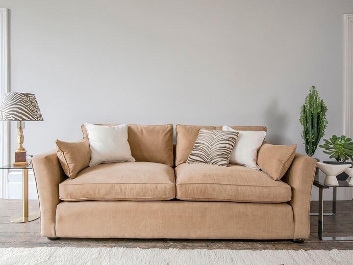 Japandi style sofa