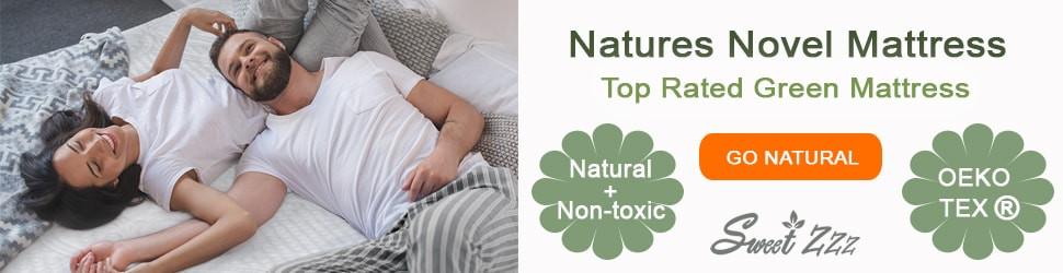 Eco Friendly mattress Sweet Zzz, for natural sleeping.