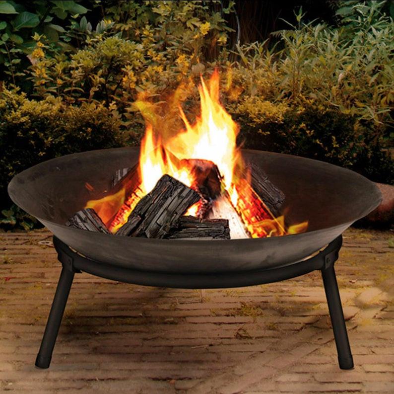 Fire Pit Bowl in black colour