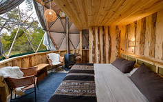 sustainable glamping eco camp