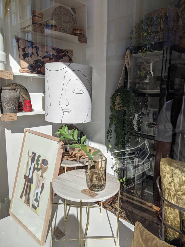 Ethical and handmade homeware shop in Manchester, Edit & Oak.