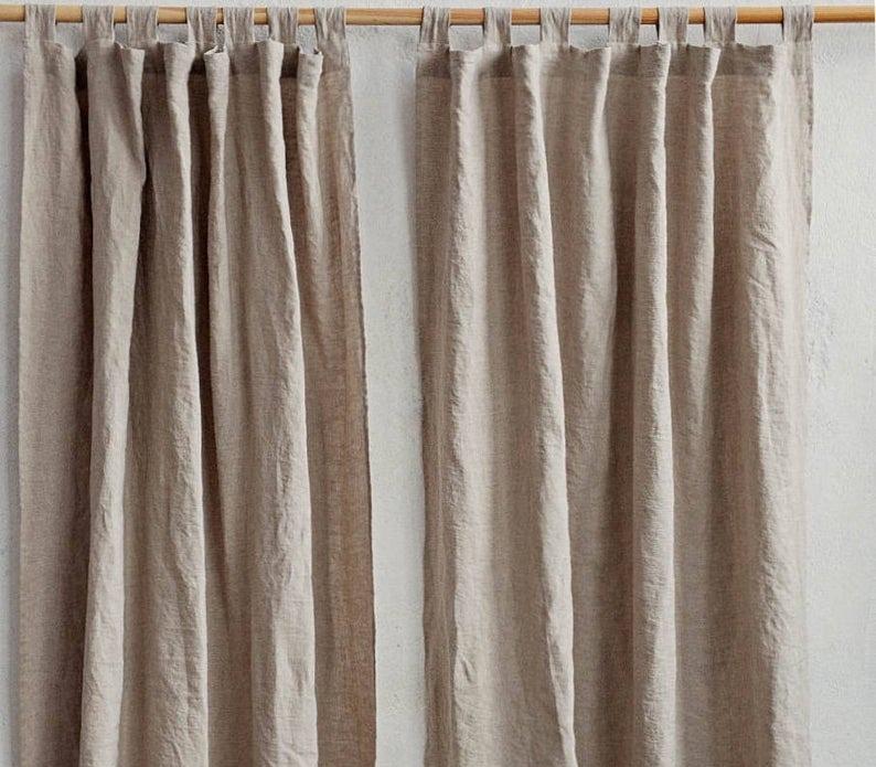 Handmade Linen Curtains