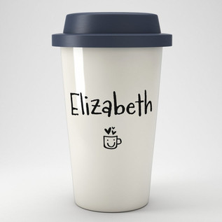 personalised Eco friendly coffee cup