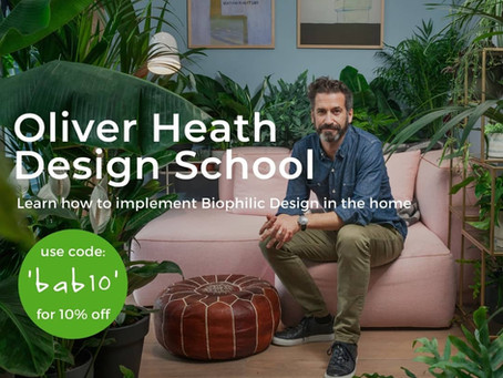 Biophilic Design Online Course Brought to You By Oliver Heath