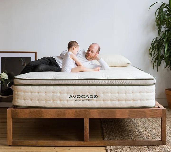 Eco Friendly vegan mattress, made for healthy sleep.