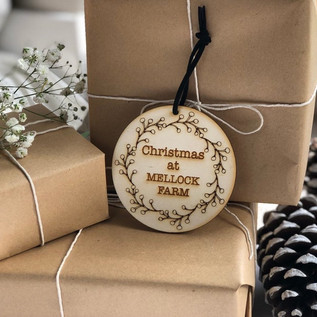 handmade personalised eco friendly gift tag
