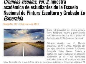 Boletín Crónicas Visuales Vol. 2