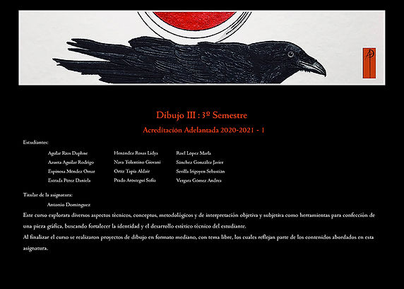 1 Dibujo III 3 semestre Antonio Domingue