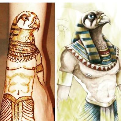Ra...the ancient sun God of Egypt. My fi