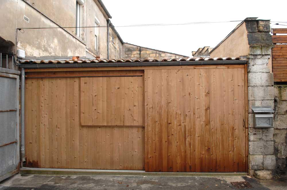 garage transformé en habitation